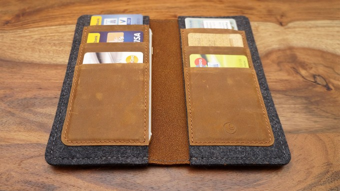 Mein iPhone Wallet von germanmade.