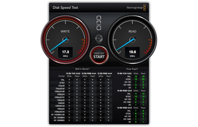 Speedtest Intenso SD-Kartenleser