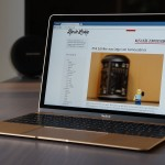 "Apple MacBook 12"" in gold - ein edler Begleiter"
